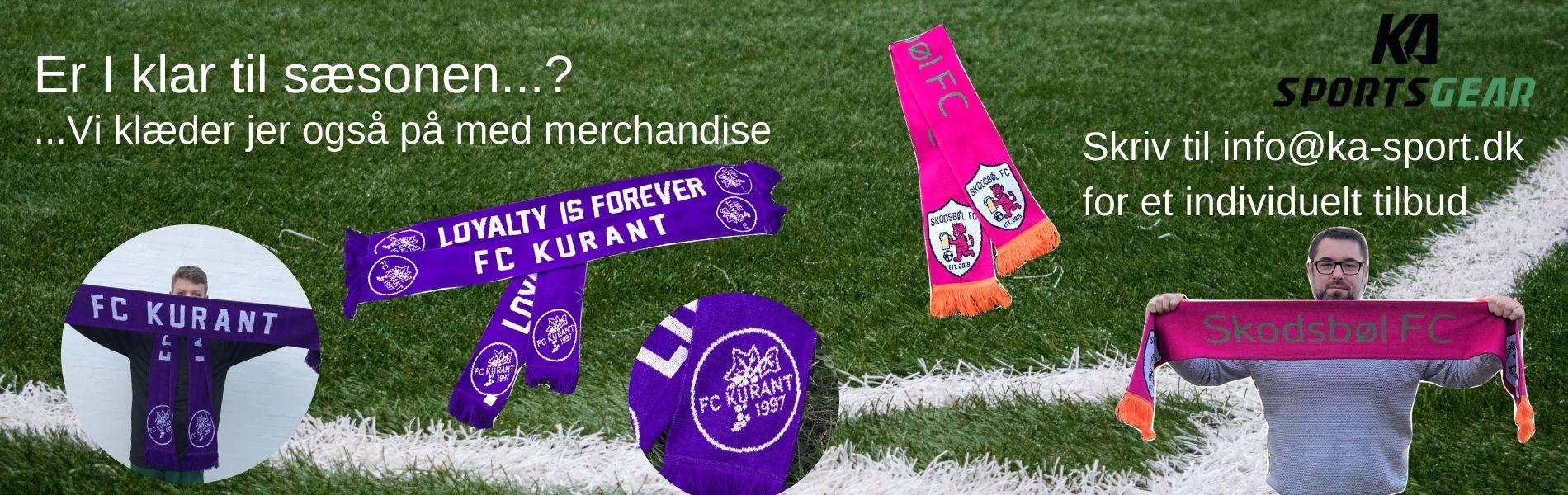 Merchandise til din klub