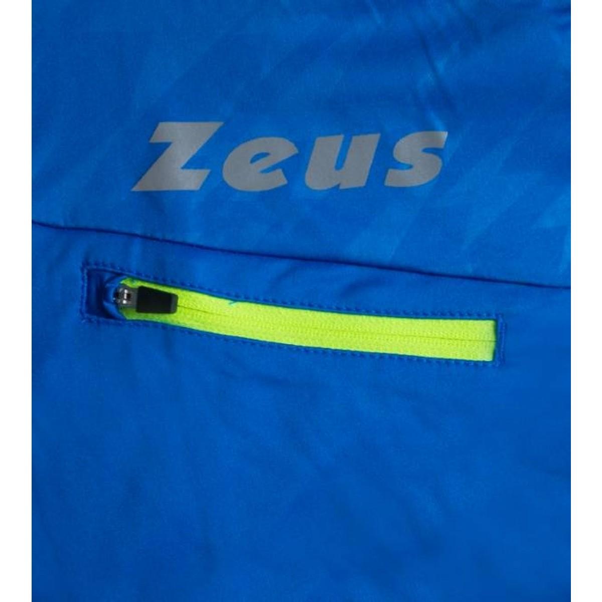 Zeus Atlante loebejakke blaa neon gul hvid