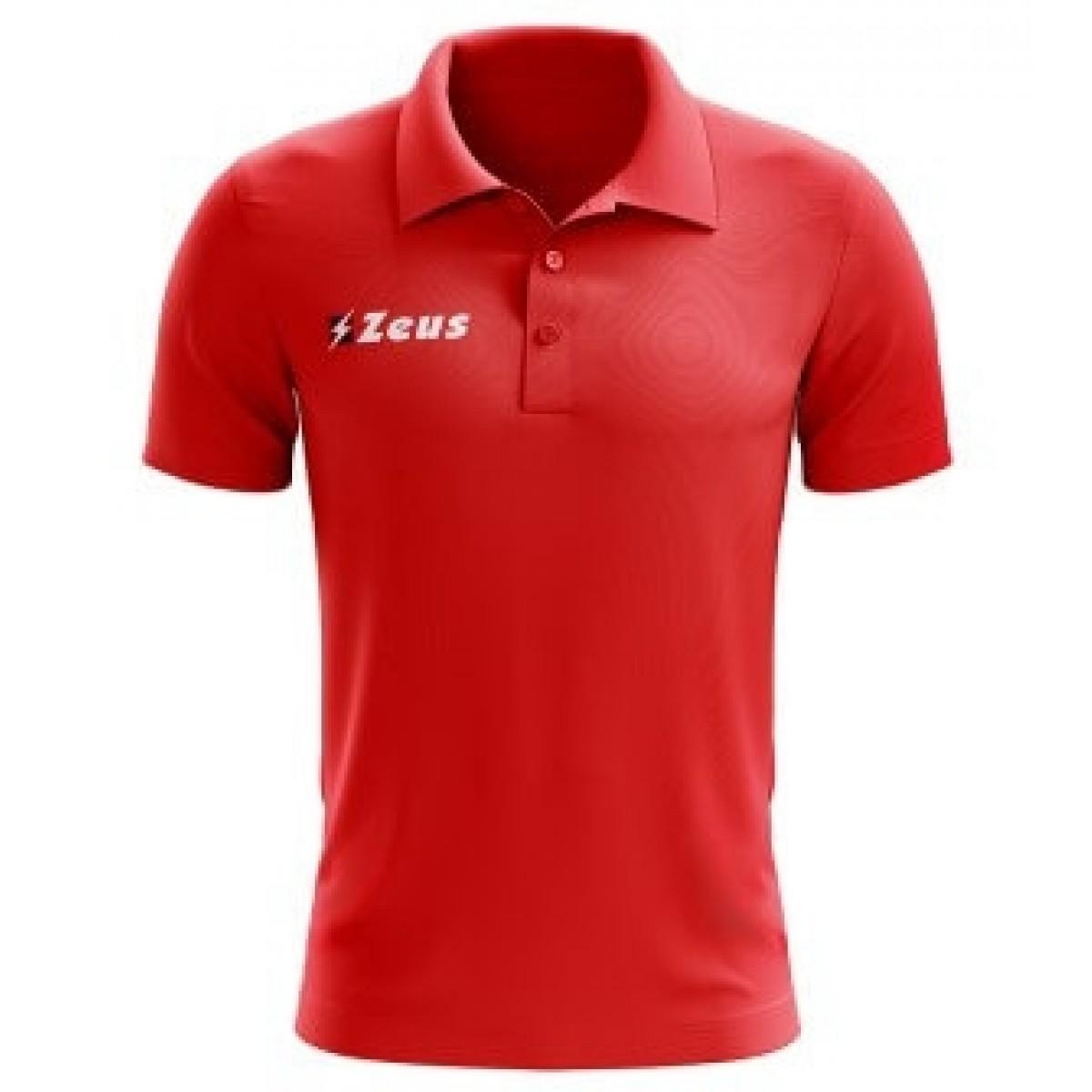 Zeus Polo Basic rød