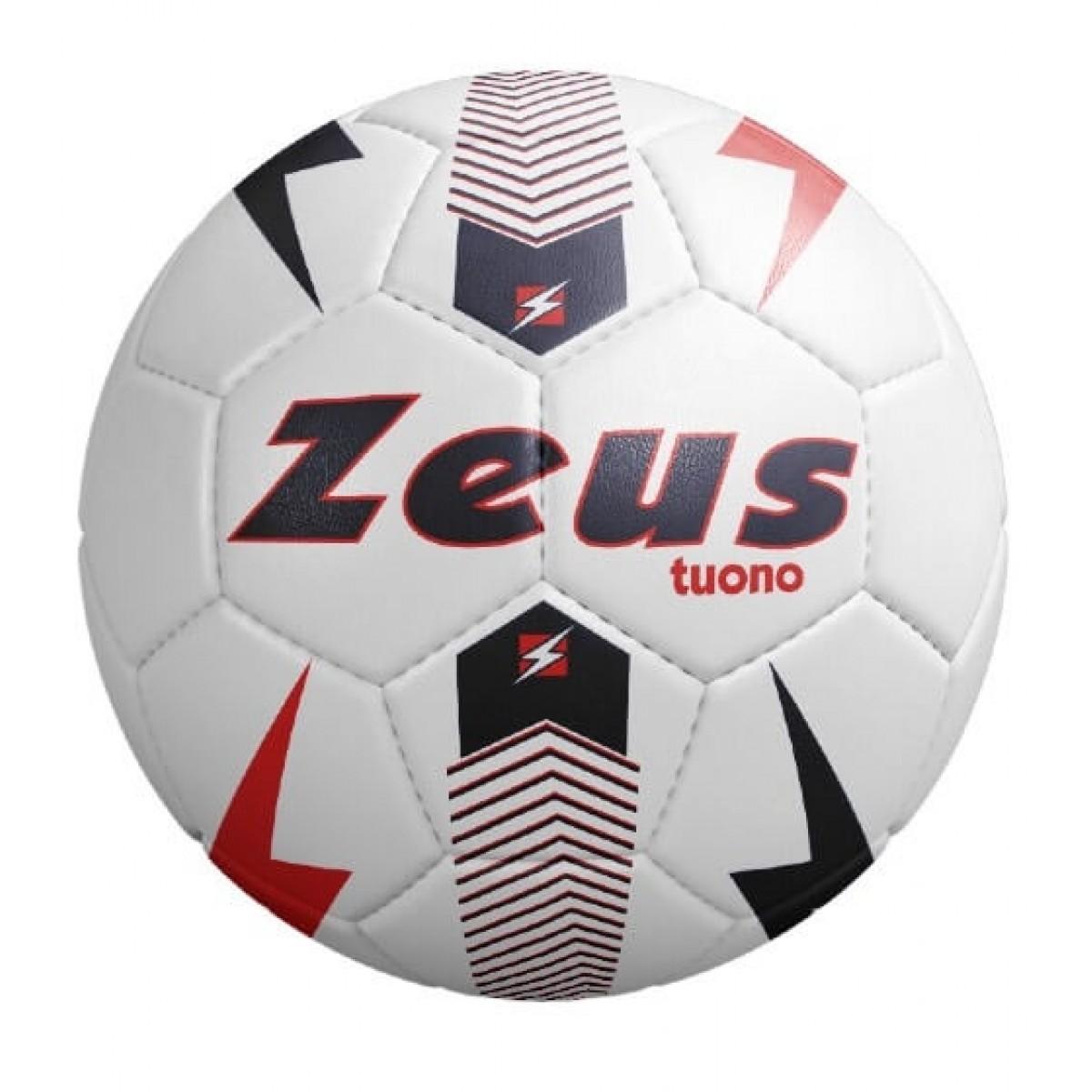 Zeus Tuono fodbold hvid rød