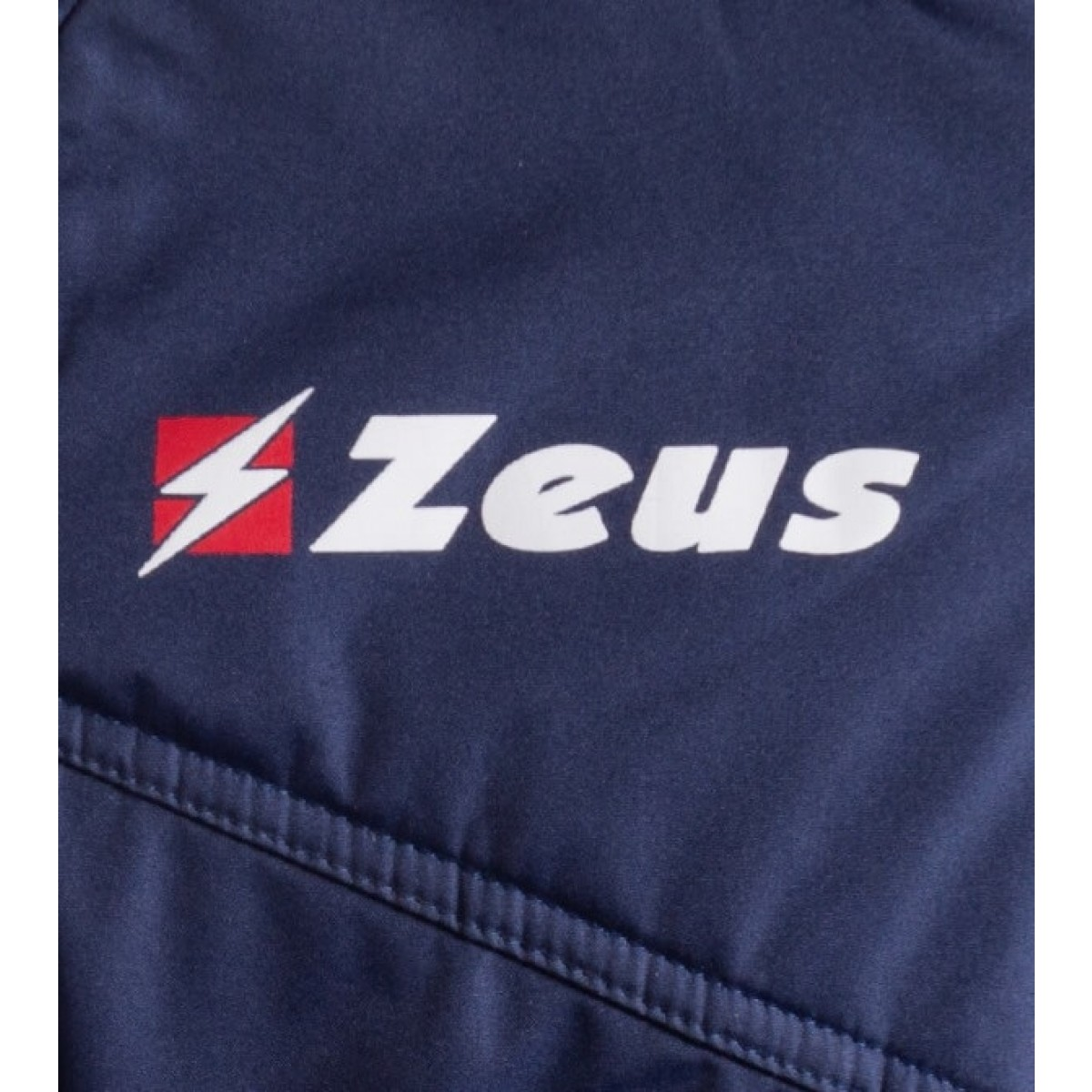 Zeus Ulysse vinterjakke mørkeblå rød