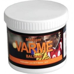 Aserve Medium varmebalsam 500ml