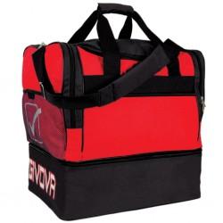 Taske big rød sort