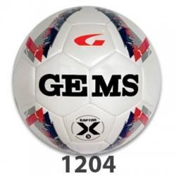 GEMS Raptor X fodbold rød mørkeblå