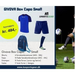 Givova Box Capo Small