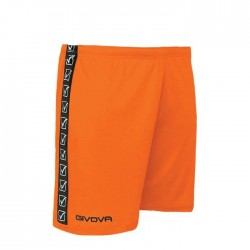 Givova Poly Band shorts orange