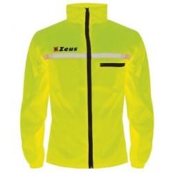 Runner regnjakke neon gul