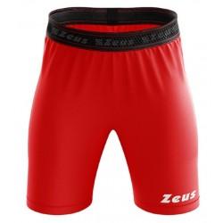 Zeus Bermuda Elastic Pro indershorts rød