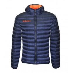 Zeus Hercolano jakke mørkeblå neon orange