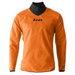 Zeus Neck Windbreaker neon orange