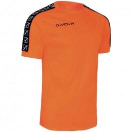 Givova Poly Band t-shirt orange