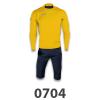 Tuta Stamford gul mørkeblå