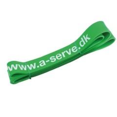 Aserve Power elastik grøn heavy