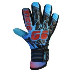 G6 Electro Cyan målmandshandske