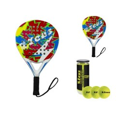 Zeus Thunder Padel Set