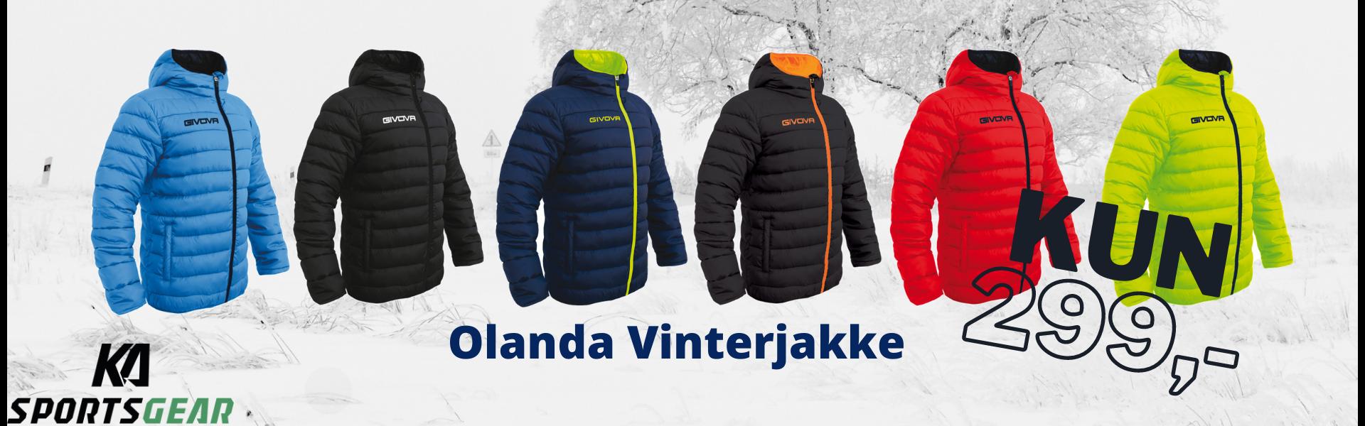 Olanda Vinterjakke - når du hader at fryse!!