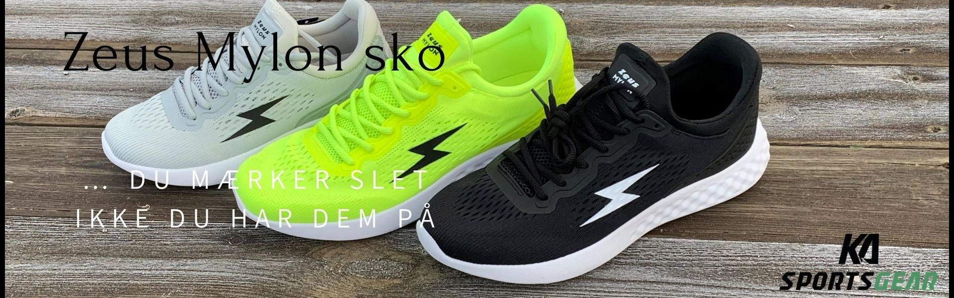 Zeus Mylon sko - så lette at have på