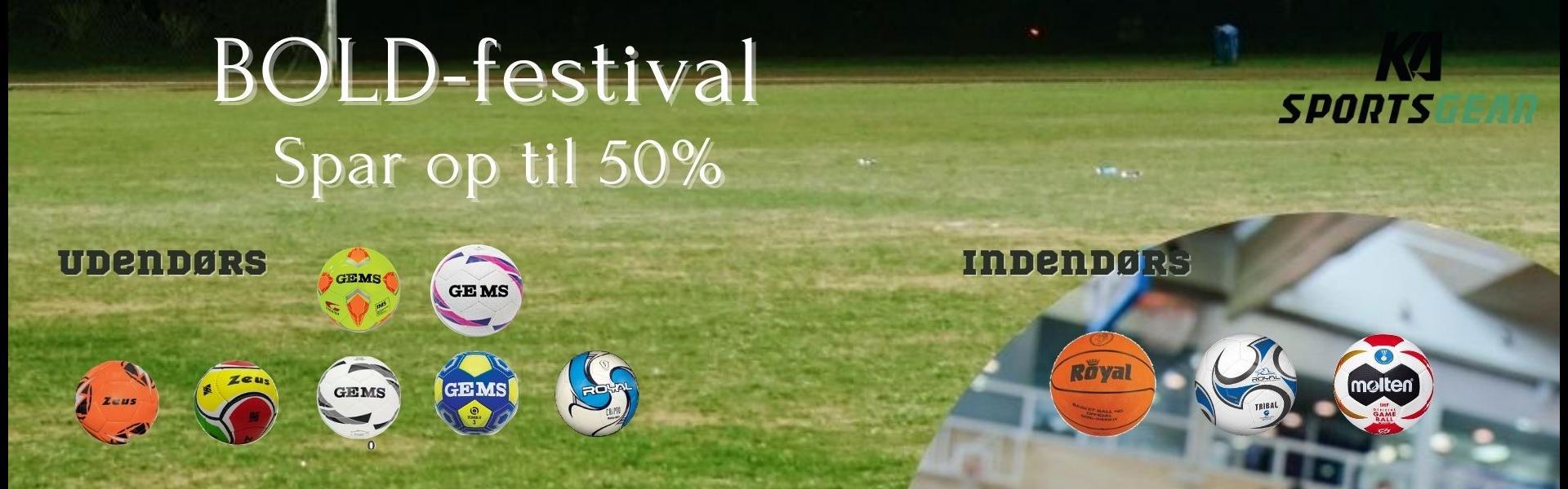 BOLD-festival - spar op til 50%