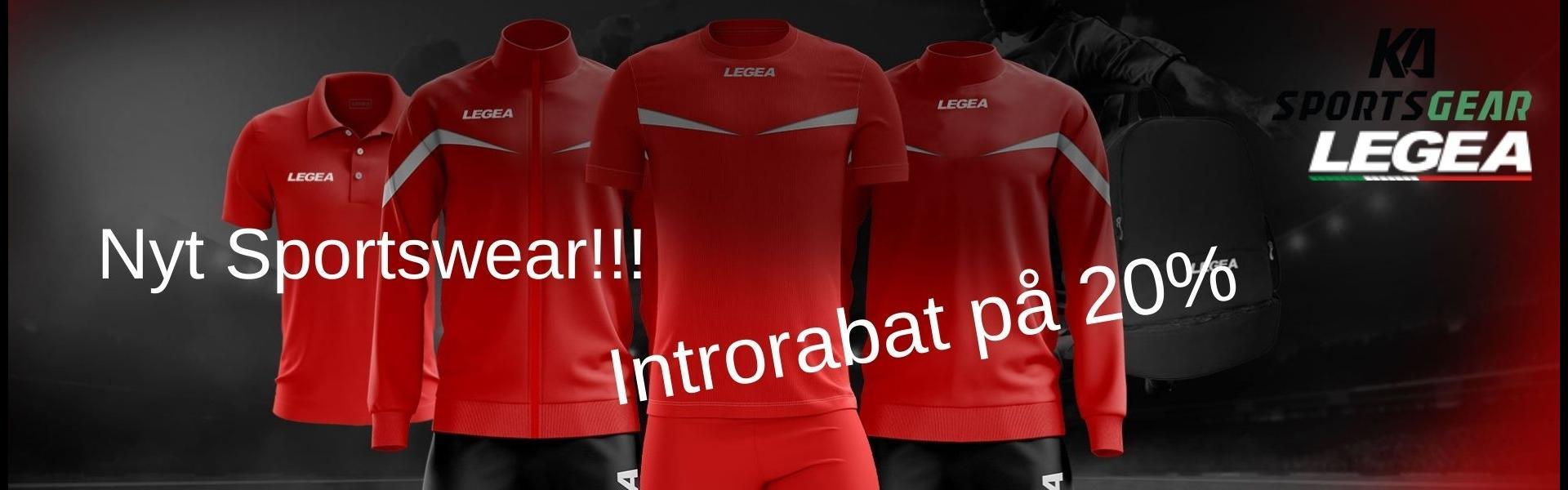 LEGEA - Nyt brand hos KA Sportsgear