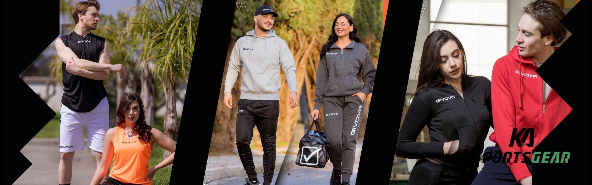 Givova - sportswear til fritid og sport